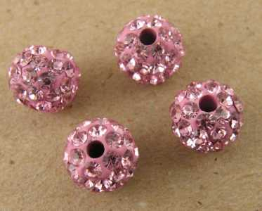 Sfera multistrass light rose