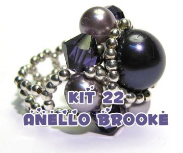 Kit anello Brooke