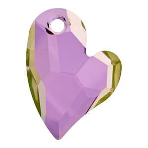 Devoted 2 U Heart Crystal Lilac Shadow