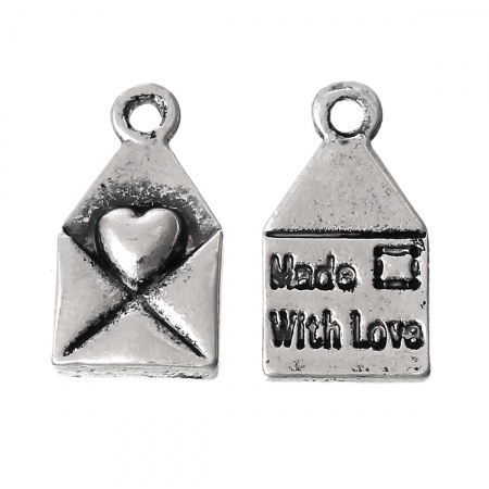 Charm Lettera Made with love