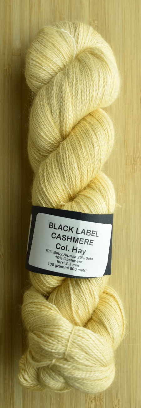 Black Label Cashmere UABstyle Colore Hay
