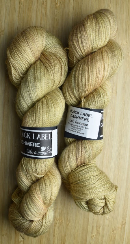 Black Label Cashmere UABstyle Colore Senape
